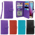 For Huawei Honor 5X/ Sensa 4G H710VL Leather 9 Card Wallet Cover Case With Strap