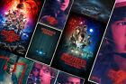 Stranger Things posters - Eleven Upside Down Mike Will Dustin Winona Ryder A3 A4