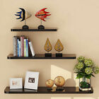 Set of 3 Floating Wall Mounted Book CD DVD Display Shelf Ledge Storage Wall Deco