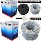 305M METER RJ45 Network Cat5e Cat6e Ethernet ADSL Modem LAN Roll Bulk Cable UK