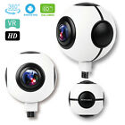 Mini 360° Panoramic 1080P VR Camera 2 Wide Angle Lens Plug and Play For Android