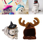 Pet Cat Dog Puppy Kitten Clothes Costume Christmas Birthday Party Hat Cap Gifts