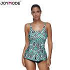 Vintage Womens Tankini Swimsuit Push Up Tankini 2 Piece Women Floral Swimwear