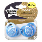 Baby Soother Dummy Pacifier Nipple Tommee Tippee 0-6m / 6-18m 2 Pack Boy / Girl