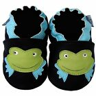 Free shipping Newborn Prewalker Soft Sole Leather Baby Shoes Frog Black 0-5 yrs