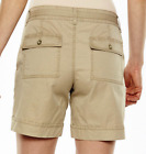 SONOMA Goods for Life Womens Cotton Blend Twill SHORTS Sizes 2-16 (4 Colors) NWT