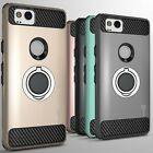For Google Pixel 2 Hybrid Armor Protective Ring Phone Cover Hard Case