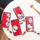 New Year Festival Adorable Fortune Cat Funny Lucky Case For iPhone X 6 7 8 8Plus