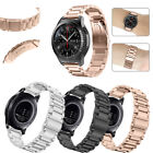 Samsung Gear S3 Frontier / Classic Watch Band Stainless Steel Metal Strap Black