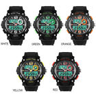 Mens Digital Watches LED Electronic Wristwatch Male Military Sports Dual Display