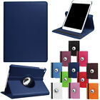 For Apple iPad 9.7 2017 5th Gen A1822 A1823 360 Rotating Protective Leather Case