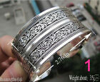 New Tibetan Tibet Silver mixed metal with silver Totem Bangle Cuff Bracele