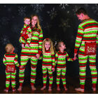 Xmas Kids Adult Family Matching Christmas Pajamas Sleepwear Nightwear Jumpsuit N
