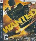 Wanted: Weapons of Fate PS3 Complete NM Play Station 3, video games