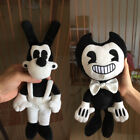 """12"""" Newest Bendy and the ink machine Bendy and Boris Toy Figure Plush Doll Gift"""