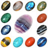 22x30mm CAB Natural Gemstone Oval Cabochon Flat Back Beads For Jewelry Making
