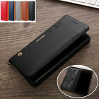 Luxury Leather Wallet Flip Card Stand Case Cover For Samsung Galaxy S9 S8 Note 8