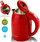 Ovente Electric Hot Water Kettle 1.7 Liter BPA-Free 1100 Watts Auto Shutoff KD64 photo