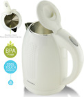 Ovente 1.7 Liter Electric Kettle Double Wall Stainless Steel Water Boiler (KD64) photo