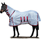 Derby House Classic Unisex Horse Rug Fly - White All Sizes