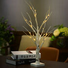 LED Silver Birch Twig Tree Warm White Light White Branches Holiday Decoration