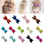 Fashion Crystal Hair Accessories Girl Sequined Glitter Hairpin Bowknot Barrette