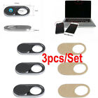 3X Webcam Shutter Cover Camera Sticker Protector For Mobile Laptop Tablet iPhone