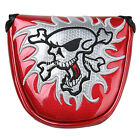 New Skull Mallet Putter Cover For Scotty Cameron Taylormade Magnetic Headcover
