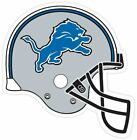 Detroit Lions Helmet Fan Sticker Decal *MANY SIZES* Vinyl Car Bumper Cornhole on eBay