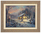 Thomas Kinkade Holiday Tradition 18 x 24 Limited Edition S/N Canvas VERY LIMITED <br/> Exclusive to eBay - Only 95 Made - Save $600
