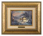 Thomas Kinkade Holiday Tradition Brushwork (Your Choice of Frame)