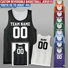 Custom Reversible Basketball Jersey - Youth - Adult - Many Colors - Mesh Jerseys