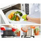 Cute Family Safe Silicone Heat-resistant Oven Glove Pot Mitt Tool Holder Kit
