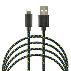 4X 6FT USB Charging Cable For Apple iPhone 6s Plus 6 5s 7 Data Sync Charger