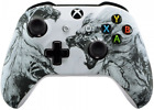eXtremeRate® Soft Touch Grip Wolf Soul Front Housing Shell Faceplate for Xbox On