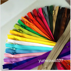 Внешний вид - 5-100pcs Colorful Nylon Coil Zippers(8/16Inch) Tailor Sewing Craft 20 Color