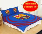New Official BARCELONA F.C. Football Club Double Duvet Quilt Cover Set Kids Fans