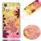 Fashion Lovely Cartoon Pattern Bling Glitter Diamond Soft TPU Phone Case Cover