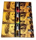EMPIRE ROLLING PAPERS 3 WALLETS OF $100 BILL PAPERS - TOBACCO CIGARETTE PAPERS