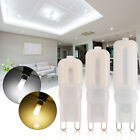 6X G9 5W 8W 12W LED Dimmable Capsule Bulb Replace Halogen Light Lamps 220-240V