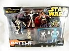 STAR WARS BATTLE PACKS AND COMMEMORATIVE TIN (4 x FIGURE) PACKS - SEE PHOTOS!