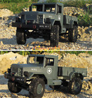 1:16 4WD 2.4G RC Military Truck Buggy Crawler Off Road Car Kids Toy With Light