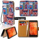 For Various BQ Aquaris Smartphones Leather Wallet Stand Magnetic Flip Case Cover