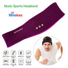 Wireless Stereo Headphones Earphone Sleep Headset Sports Headband Soft US SHIP