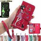 LuminousPU Flip Card Stand Case Wallet Cover For Moto G4 PLAY X STYLE G5 Plus