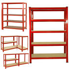 Garage Shelving Racking Heavy Duty Home Storage Unit 180x90/120cm Extra Wide Bay <br/> 1800x 1200/900 x 450mm | Solid MDF Board | Lowest Price