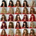 Fashion Women Long Hair Full Wig Natural Curly Wavy Synthetic Hair Wigs - G