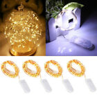 4X Button Cell Battery Power LED Night Starry Light Wine Bottle Lamp Xmas Party