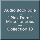 Audio Ticket Sale: Miscellaneous (10) - Pick what you want to save