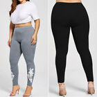 New Fashion Casual Women's High Waist Slim Fit Yoga Plus Size Pants Leggings AA